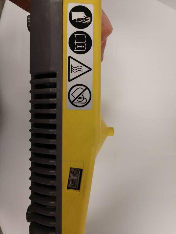 Pruftechnik Eddytherm portable