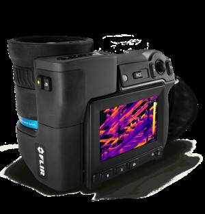 FLIR T1010 IR camera